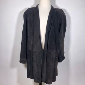 The Best Leather Co. Duster Medium Length Jacket